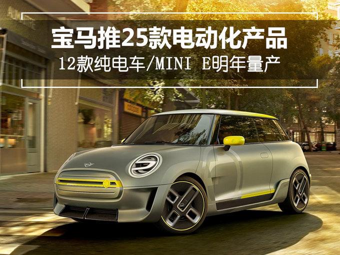 宝马推25款电动产品/12款纯电车 MINI E明年量产