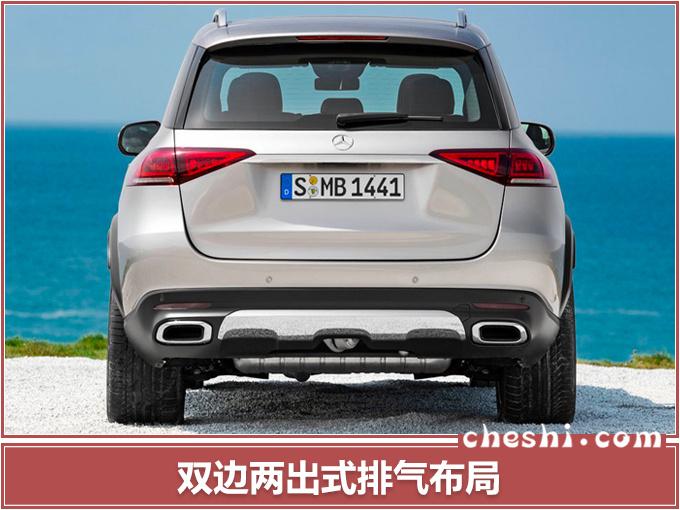 奔驰全新GLE实拍,14天后发布,尺寸大幅加长,比宝马X5霸气