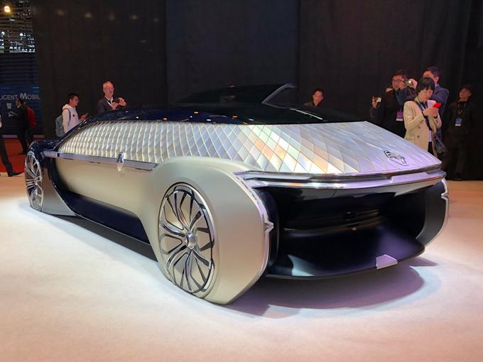 雷诺EZ-Ultimo概念车亚洲首秀 配L4级自动驾驶