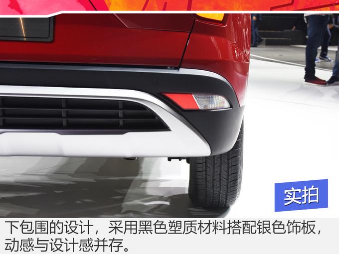小身材拥有大设计!看看这款SUV!才知道什么叫做换代!