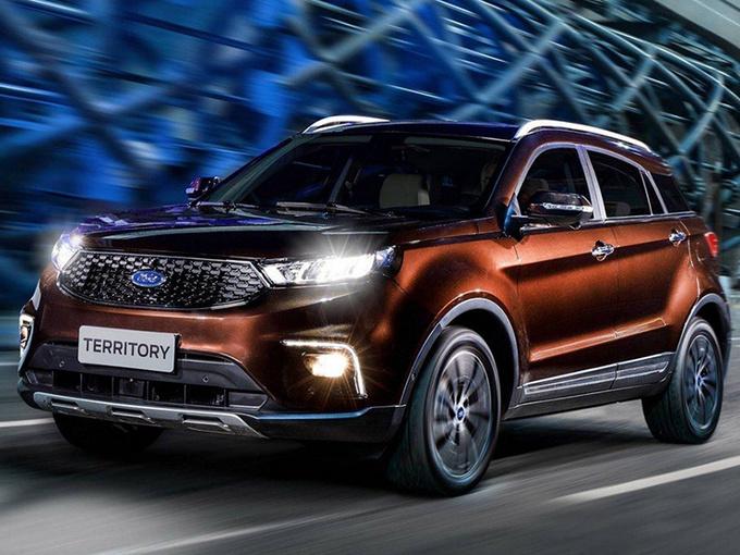 福特这款SUV,只有中国卖,现出口巴西,罗纳尔多会喜欢吗?