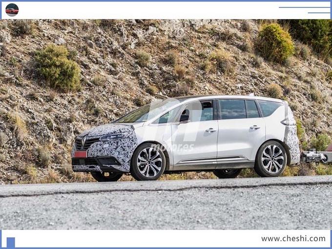 雷诺新MPV曝光,空间、动力完胜奥德赛!还有SUV的运动感?