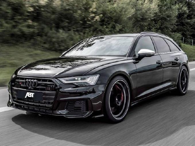 看完还说是新款A6?搭4.0T引擎,比奔驰E级帅气,看外观想订车了
