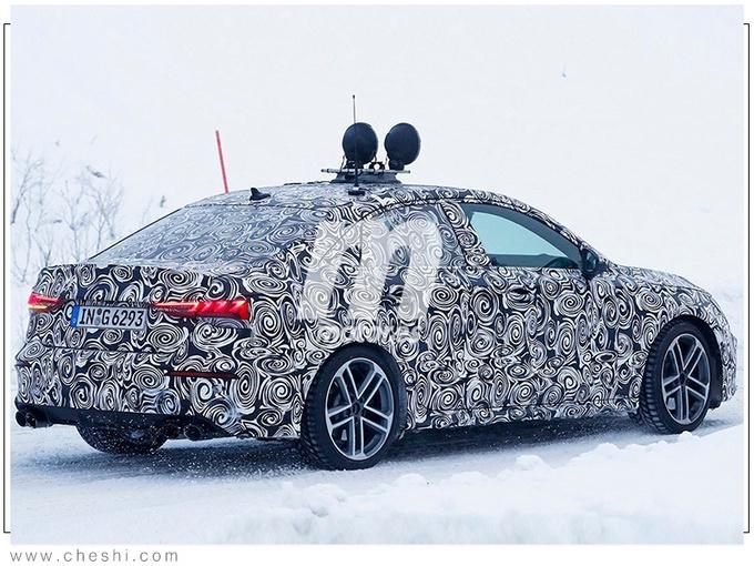 奥迪新S3,颜值暴涨,2.0T引擎+四驱,再说是A3真是不懂车了