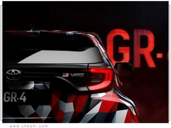 丰田新款Yaris GR曝光 搭1.6T引擎/配四驱系统