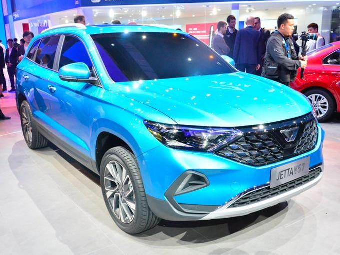 捷达VS7大SUV标配丰富 明年2月上市11万元起售