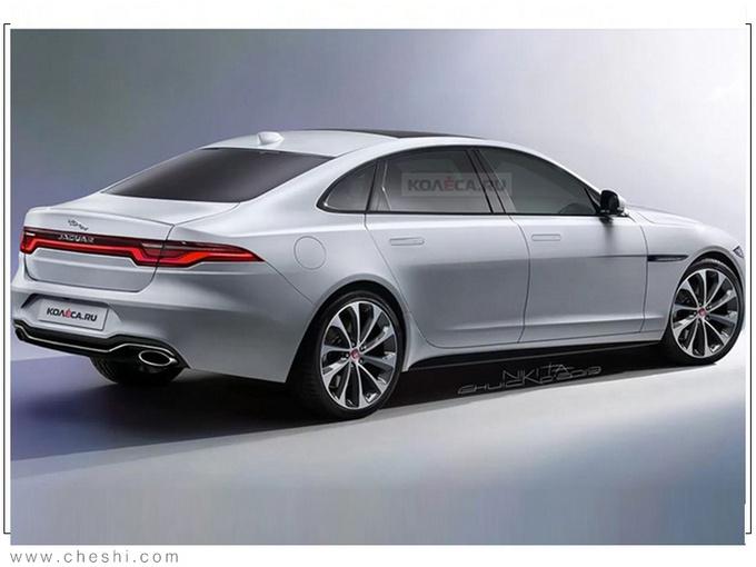 捷豹新轿车谍照,与宝马7系同级,看完尾灯,都说比奥迪A8还帅