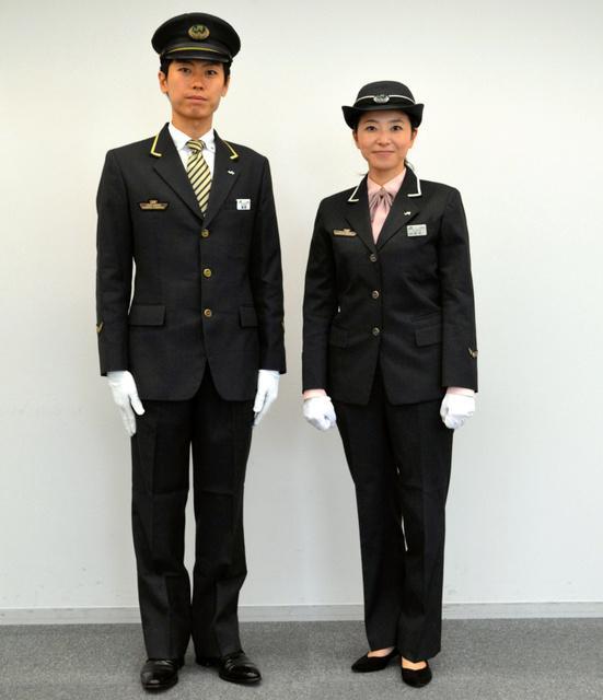 JR东日本统一男女制服款式取消裙装 明年5月投入使用