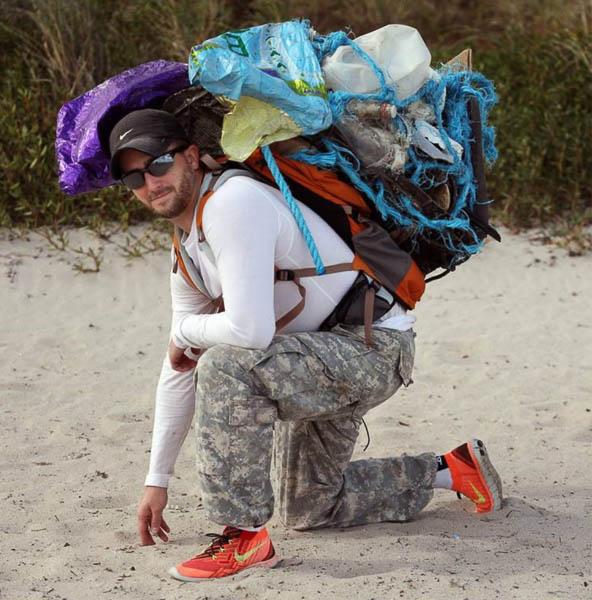 奥塔佐希望用跑步来推广垃圾回收。