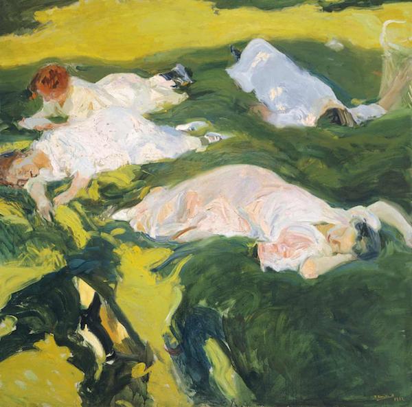 索罗拉,《The Siesta》, 1911年