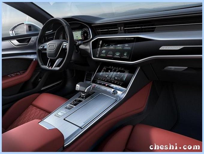 奥迪全新S6实车曝光!增全新引擎油耗下降,5秒就破百