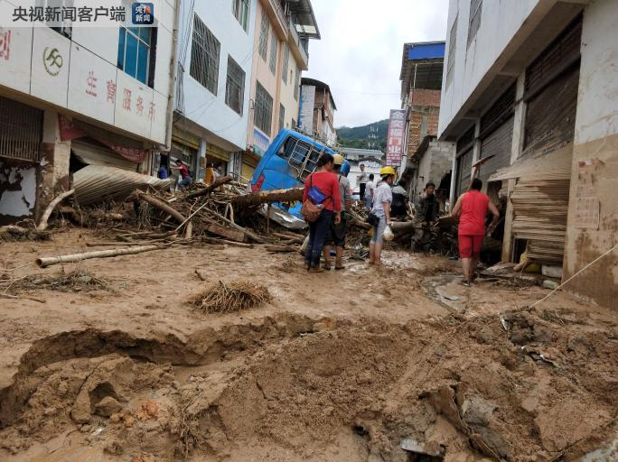 云南发布预警:未来24小时多地易出现滑坡泥石流