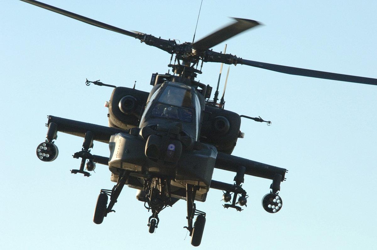 美军5天内4次坠机 阿帕奇例行训练坠毁致2死