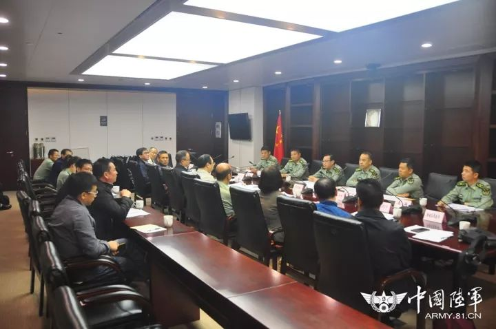 ▲军地召开转业安置工作联席会议。