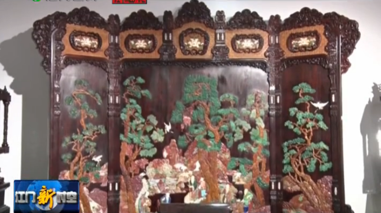 百家古典家具广作名优产品在新会区展出