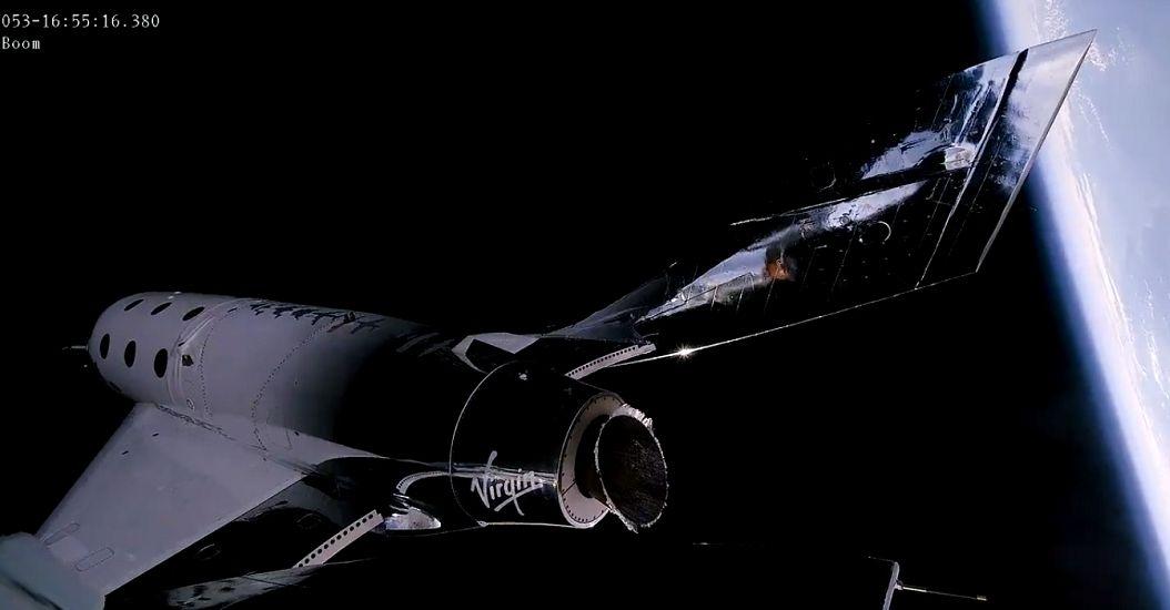刷新商业航天历史!维珍第二艘载人航天飞船升空