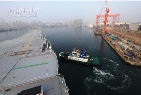 首艘国产航母海试:进一步跻身世机械设备代理授权书界先进航母行列