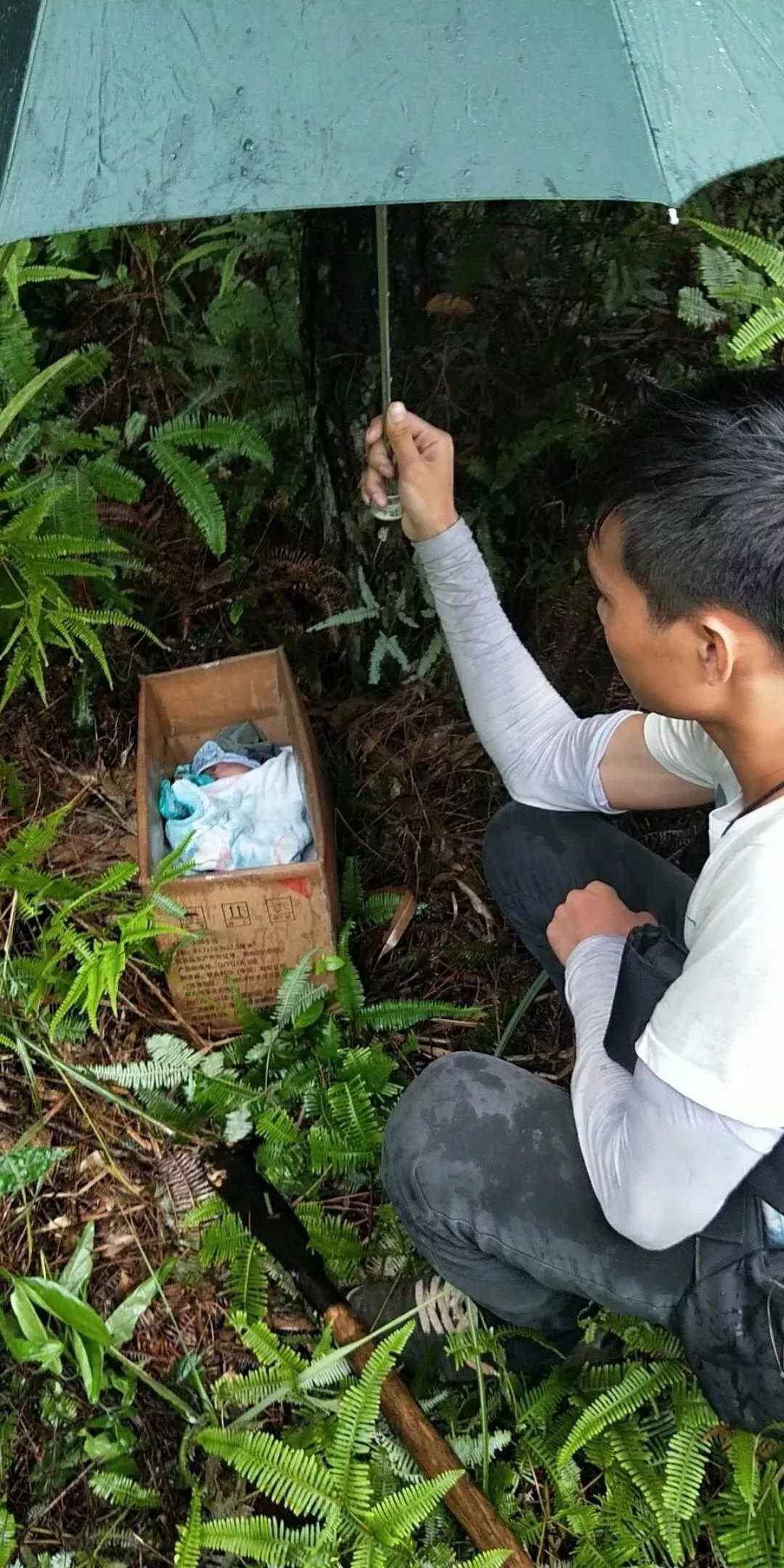 事发钦州: 孩子刚出生便被遗弃 据了解,发现婴儿的是一名某通讯运营图片