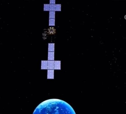实践二十号卫星激光通信通过在轨验证图片