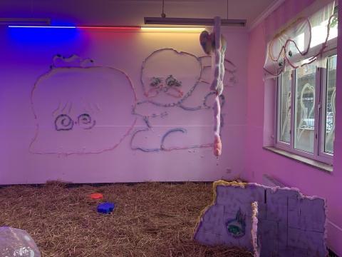 """艺术青流 京东物流携手798打造""""一堂有趣的美术课"""""""