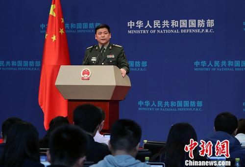 中国国防部:愿与日方加强防务部门交流合作