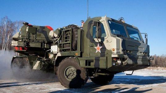 俄罗斯新一代S-500防空导弹系统资料图(图源:俄国防部新闻处)