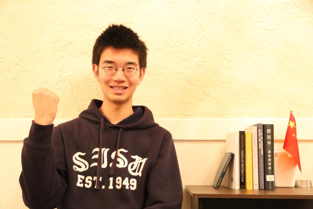 """上海外国语大学大四学生熊子卿:与祖国同呼吸 与世界共命运,让爱靠近 让""""疫""""走远"""