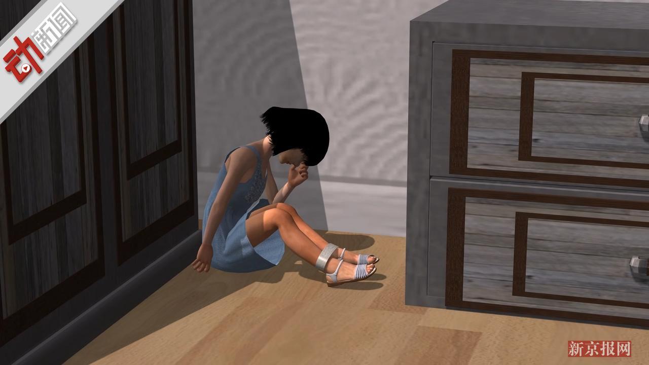 """3D:遍体鳞伤!曝4岁韩日军事协定遇阻女童遭生父虐待""""经常被栓厕所"""""""