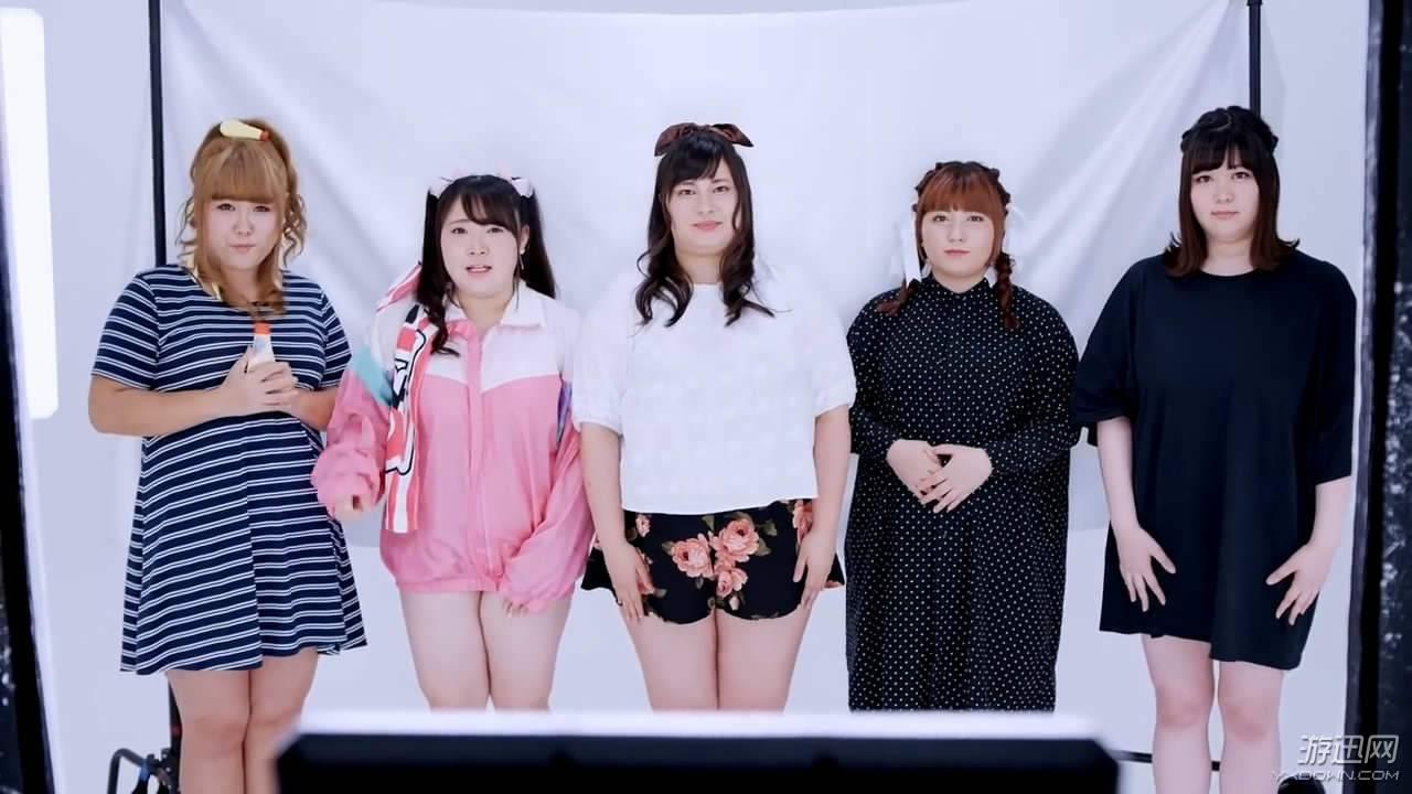 """11区打造""""重口味""""女子偶像组合 5个妹子总重860斤"""