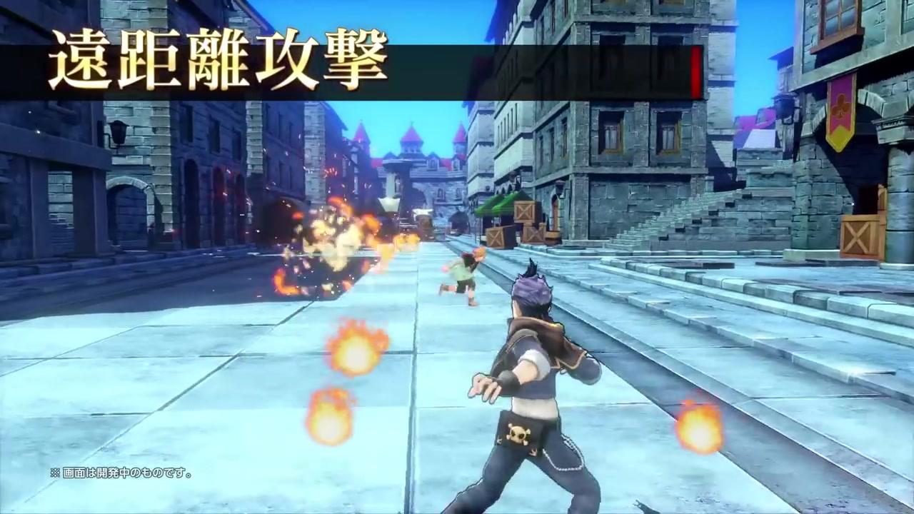 《黑色五叶草:骑士四重奏》PS4\/PC宣传片展示