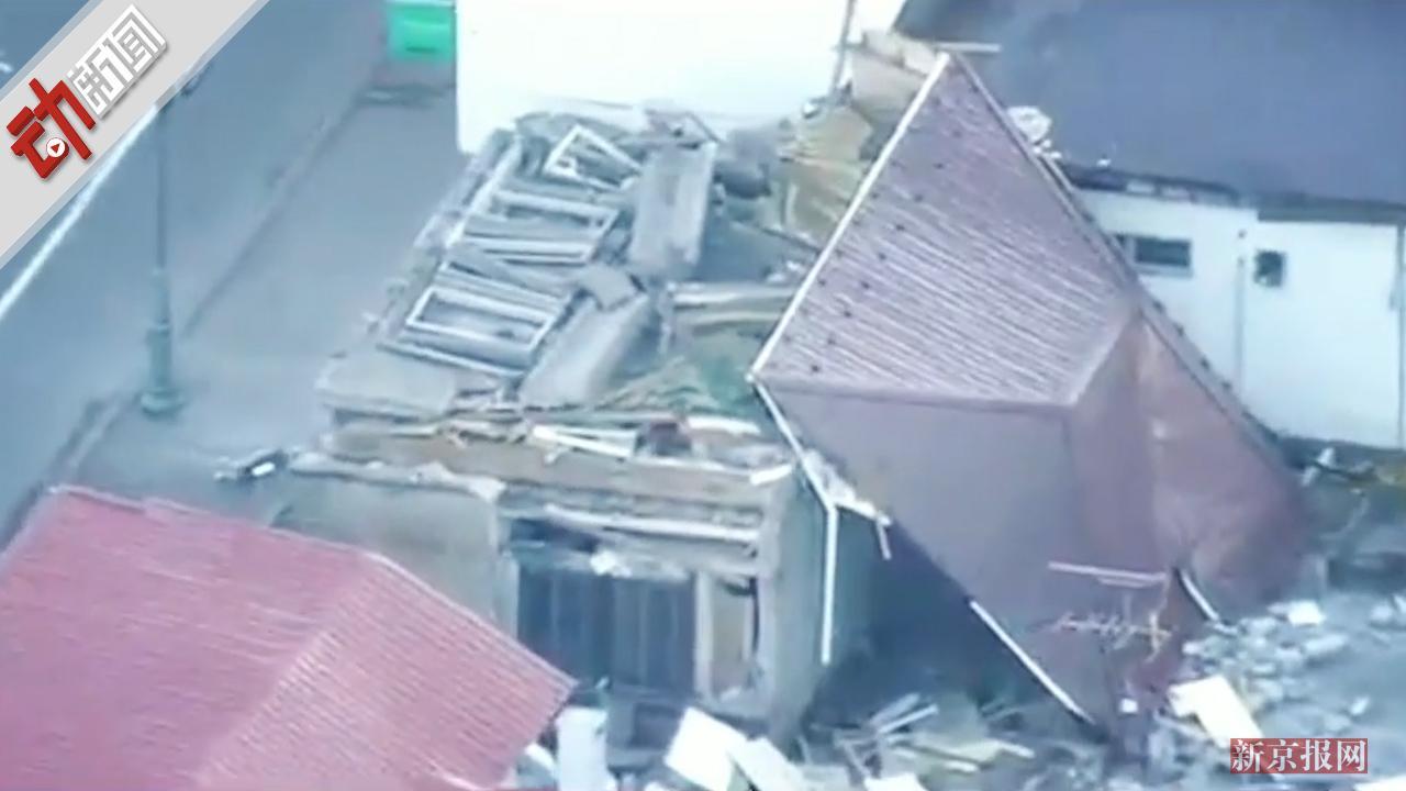 日本北海道6.7级强震现场:至少120伤19失联 全境停电 警报响彻夜空