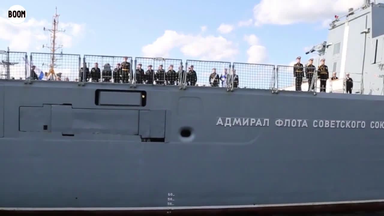 俄戈尔什科夫号完成全球航行返港 曾参加中国海上阅兵活动