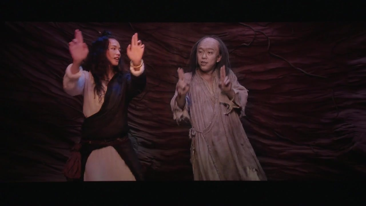 《西游降魔篇》舒淇被黄渤逗得笑场,这一段却被星爷保留下来成为