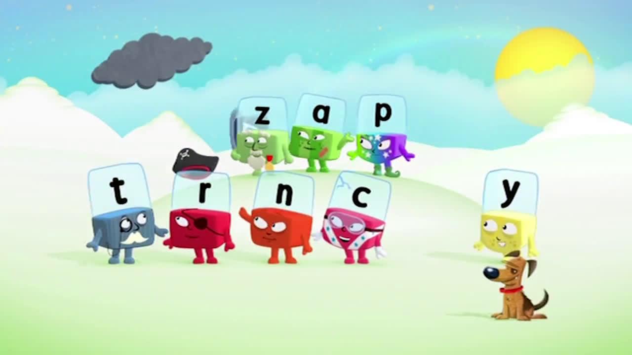 英国BBC电视台:儿童英语自然拼读学习节目