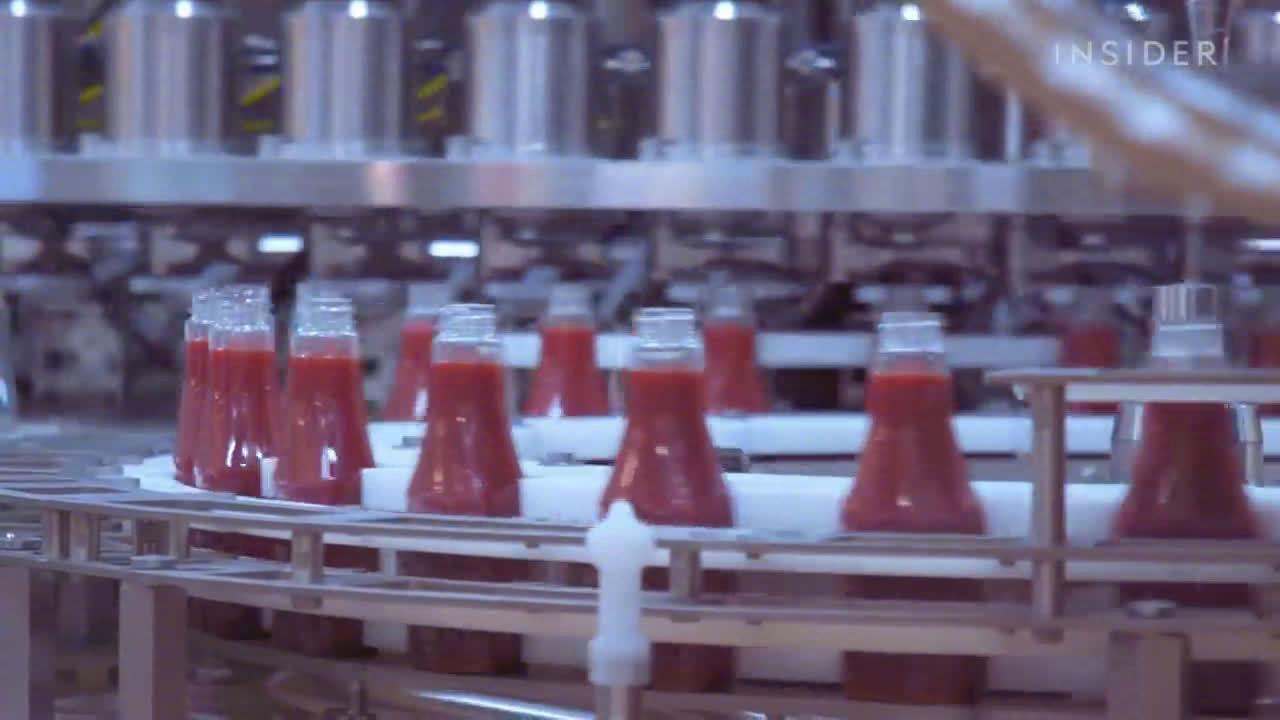 亨氏番茄酱是如何制成的