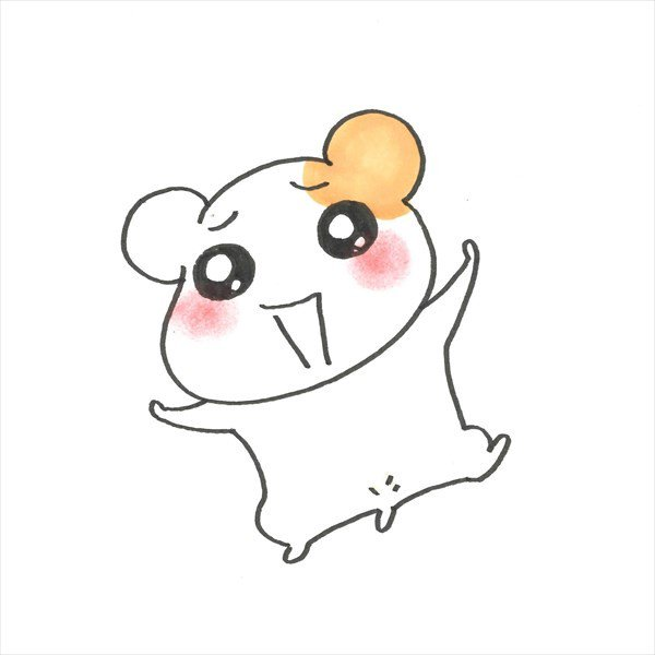 作者手绘稿 据悉,《仓鼠管家》续篇漫画名为《仓鼠管家 啾~(おるちゅ