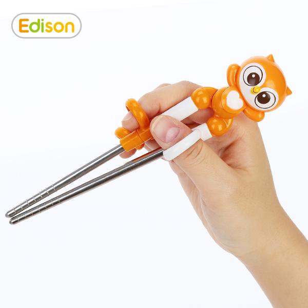 宝宝学习用筷困难?爱迪生儿童筷子也许是您的选择