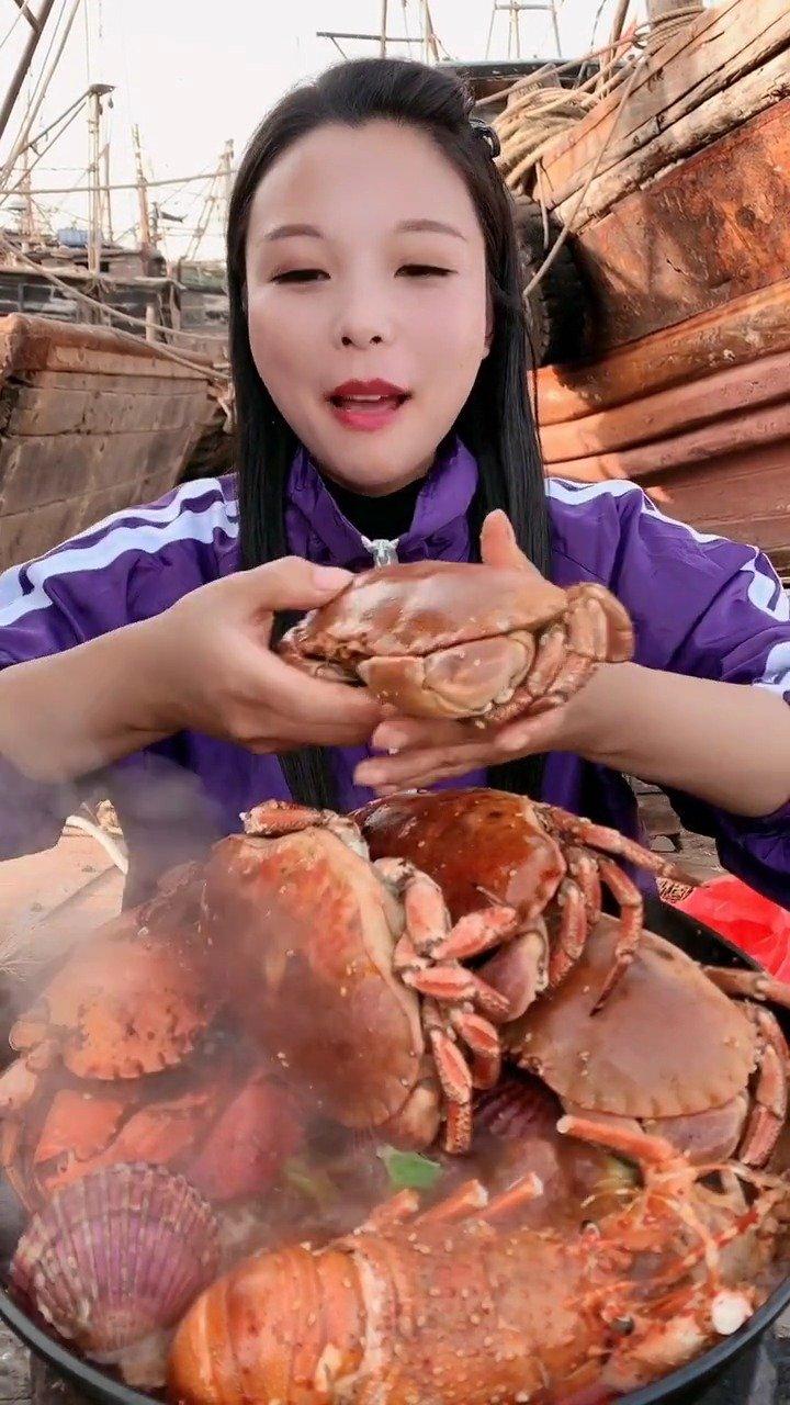 开面包蟹吃,清姐