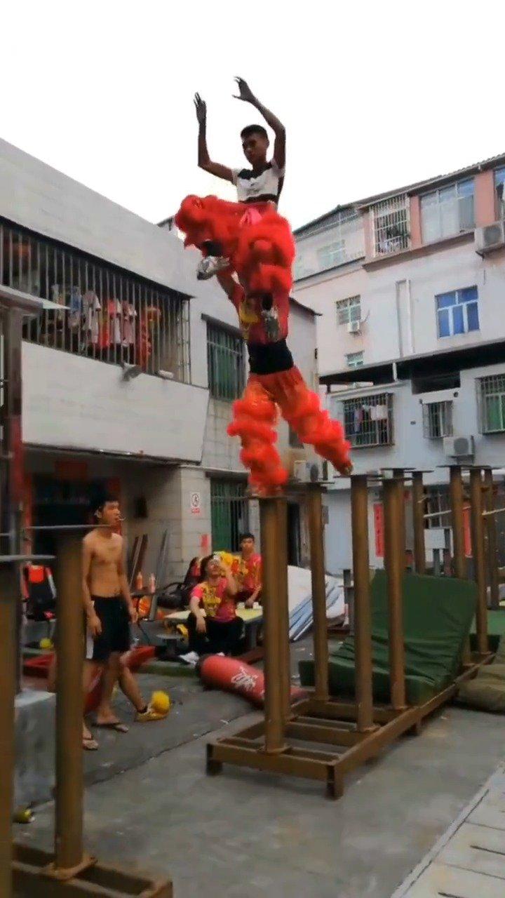 舞狮传统文化,传承中华文化的民间高手