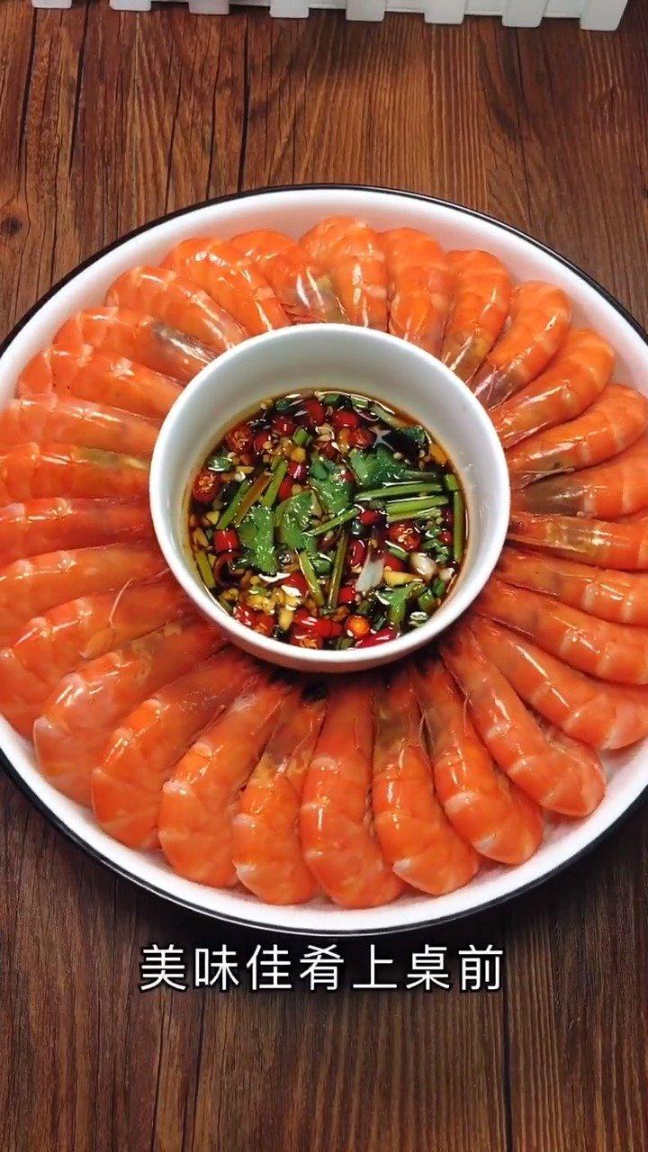 白灼虾,简单营养又美味。厨艺教程厨王年夜饭