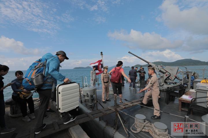 北京时间7月5日18时45分许,两艘载有中国游客的游船在泰国普吉岛附近