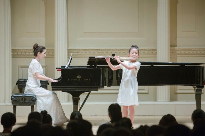 范屿涵折桂纽约环球音乐大赛,《无尽之源》奏响卡内基音乐厅