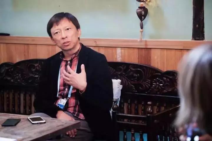 ▲搜狐董事长张朝阳接受采访。资料图