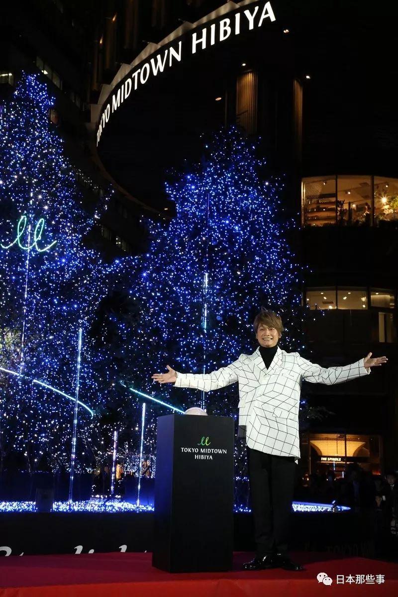 今田美樱&铃木仁,11月19日,出席潘婷举走的圣诞点灯式。