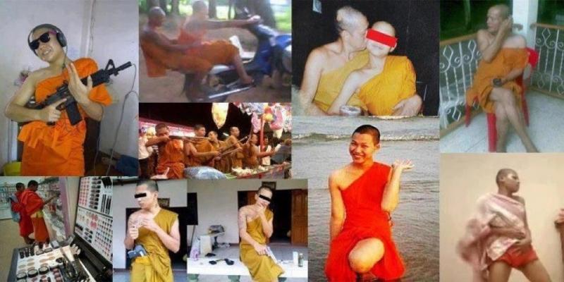 禁欲之中的僧侣常被发现炫富、腐败、谋杀及虐待儿童
