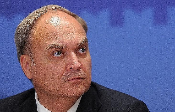 图为俄驻美大使阿纳托利・安托诺夫。(塔斯社)