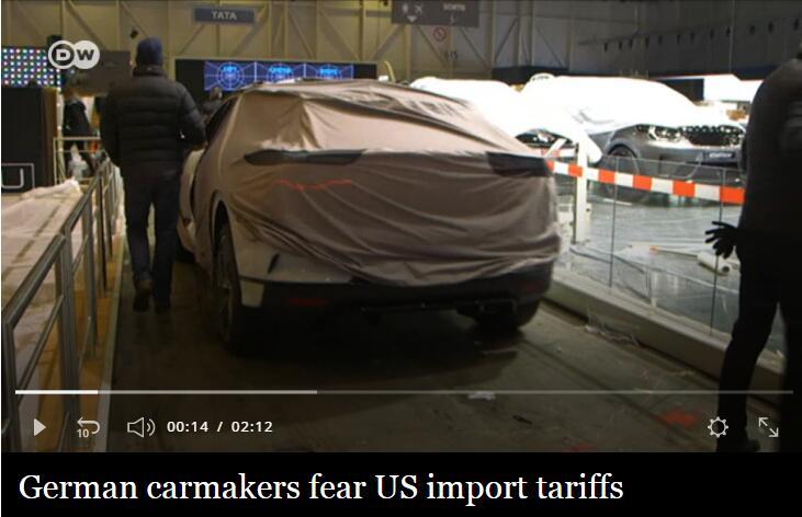 若美提高贸易壁垒 德三大汽车商称或把生产转到中国