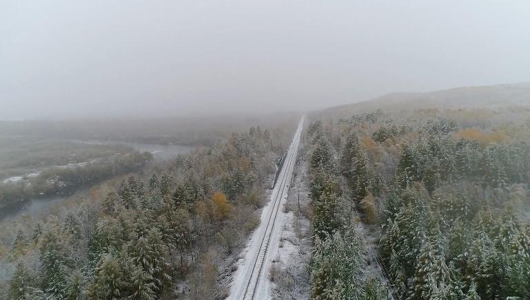 大兴安岭地区普降大雪!今年的冬天,来得比以往更早一些