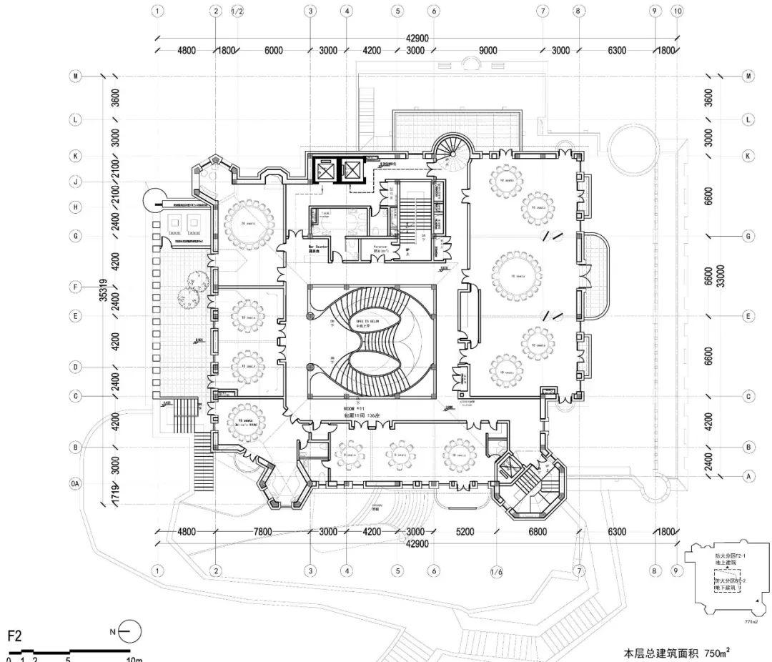 城堡二层平面图