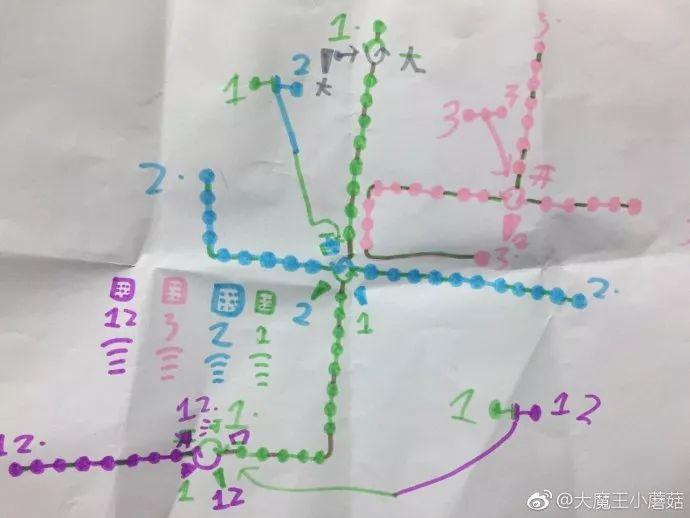 黑白电路线图